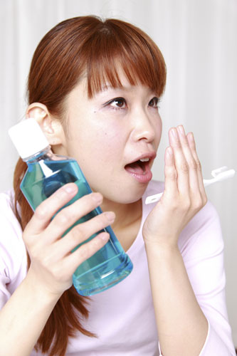 Prescription mouthwash might be a short-term solution to bad breath, but it may not treat the underlying symptoms.