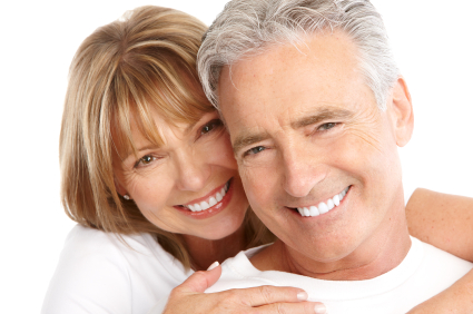 Couple who recieve restorative dentistry by Dailley Dental Care