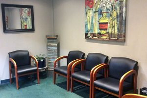 the lobby at Dailley Dental Care